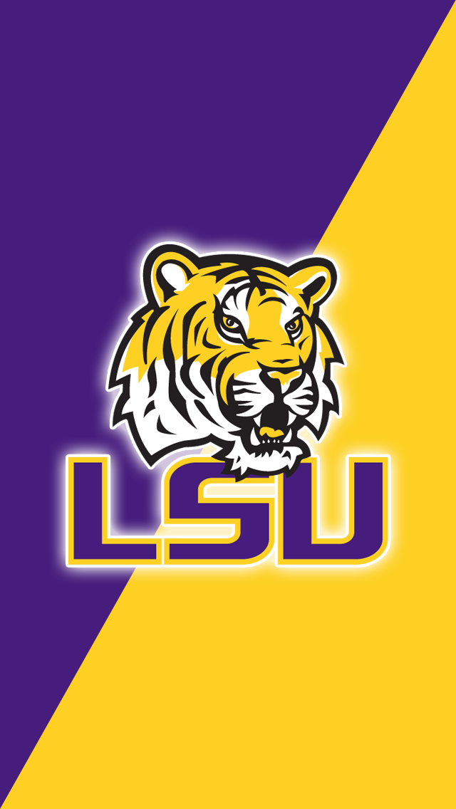 Free Lsu Tigers Iphone Ipod Touch Wallpapers Install In Seconds 18 To Choose From For Every Model Of Iphone And Ip Lsu Tigers Lsu Tigers Football
