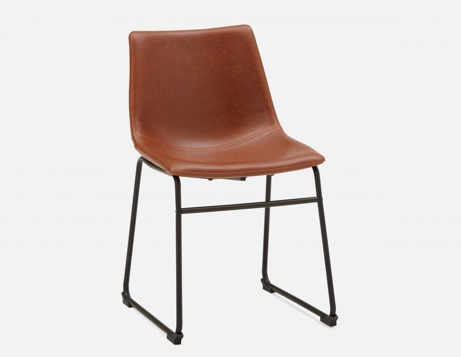 Chaise Brun Hayden Structube Chaise Moderne Meubles De Salle
