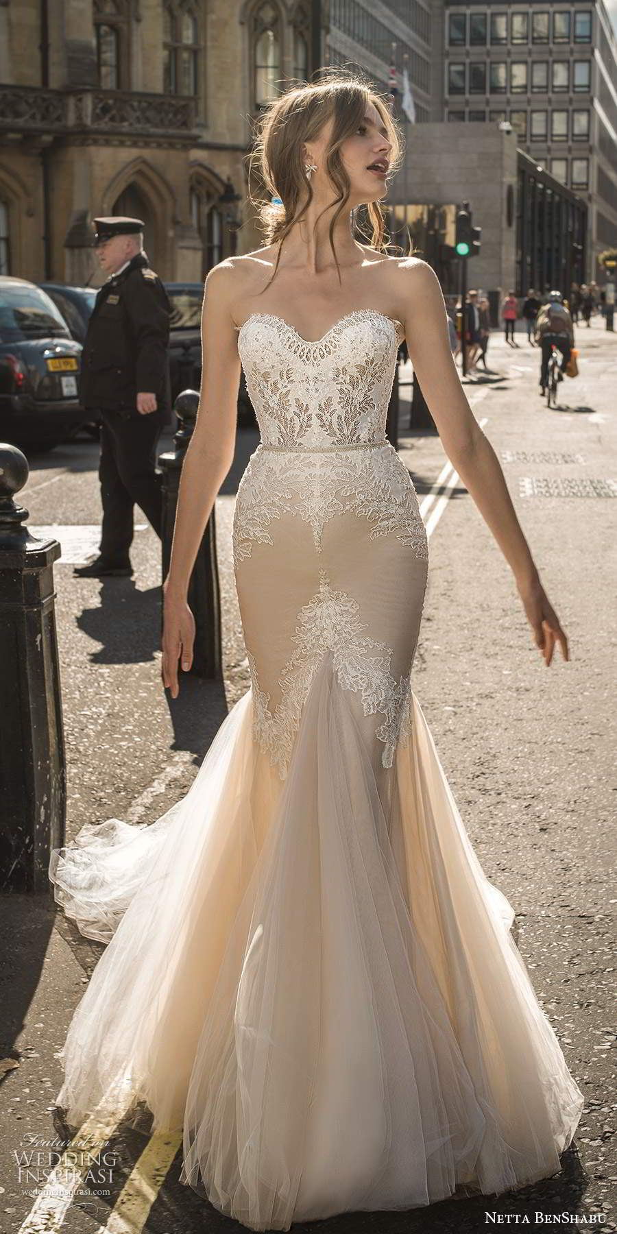 Netta Benshabu Fall 2020 Wedding Dresses Amour Bridal Collection Wedding Inspirasi Wedding Dresses Wedding Dresses Lace Modest Wedding Dresses [ 1800 x 900 Pixel ]
