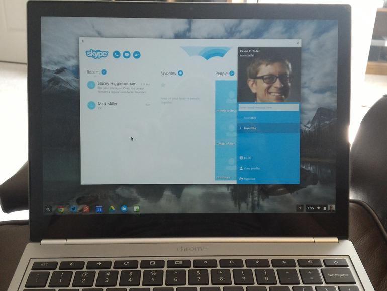 How to run Skype on a Chromebook Chromebook, Mobile app