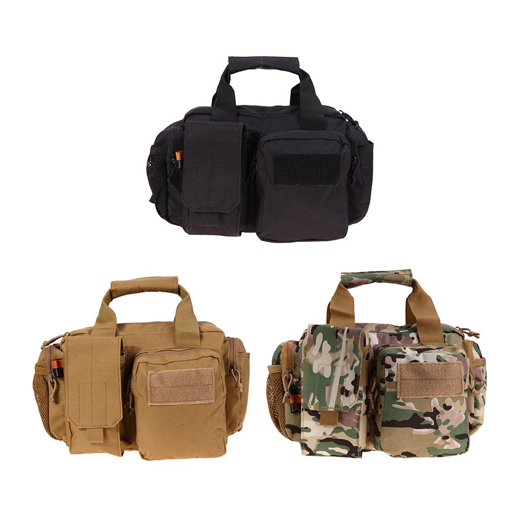 21*11.5cm Outdoor Tactical Molle Edc Nylon Utility Gadget Pouch Tools Waist Bags Sports Entertainment Climbing Bag Accessories Security & Protection