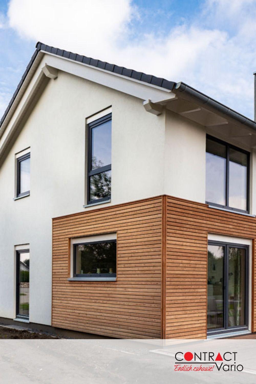 Hausdetails Wohnen Und Arbeiten Contract Vario Fassade Haus Holzverkleidung Haus Architektur Haus