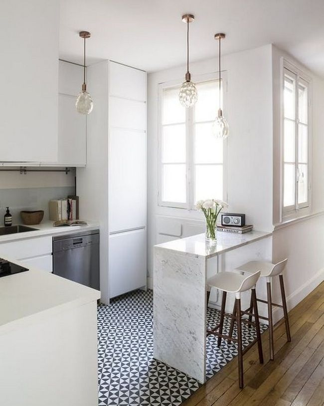 Awesome 50+ Parisian Kitchen Decor Small Spaces_5 Awesome Design