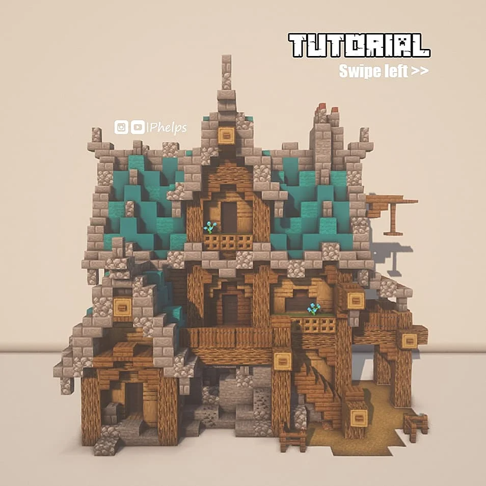 A minecraft me val house Tutorial by pictures 😉