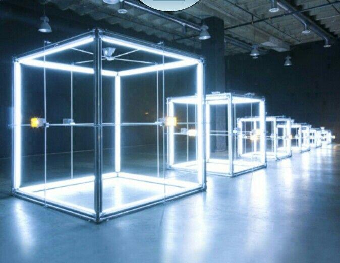 Maxima Light Holographic Gl Display Art