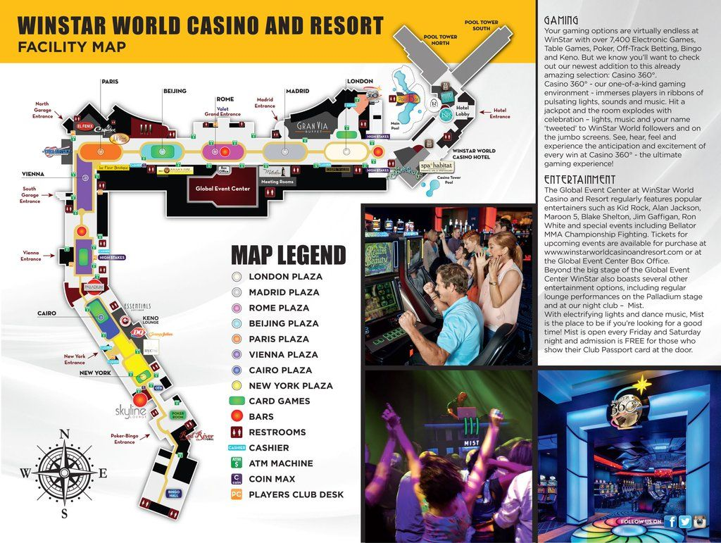 Map of Winstar Casino - Yahoo Image Search Results | World ...