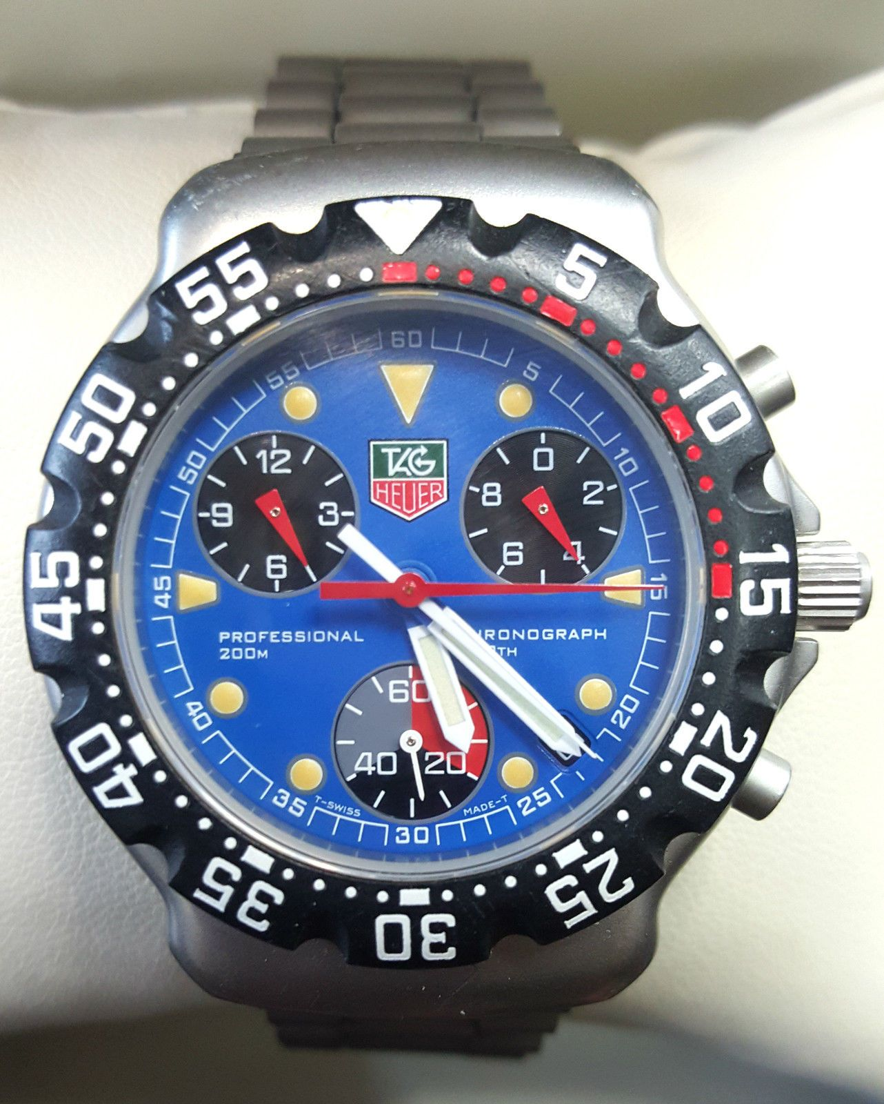 Used Tag Heuer F1 Chronograph F1 Chrono CA1210 watches for sale - best price 020e28b07