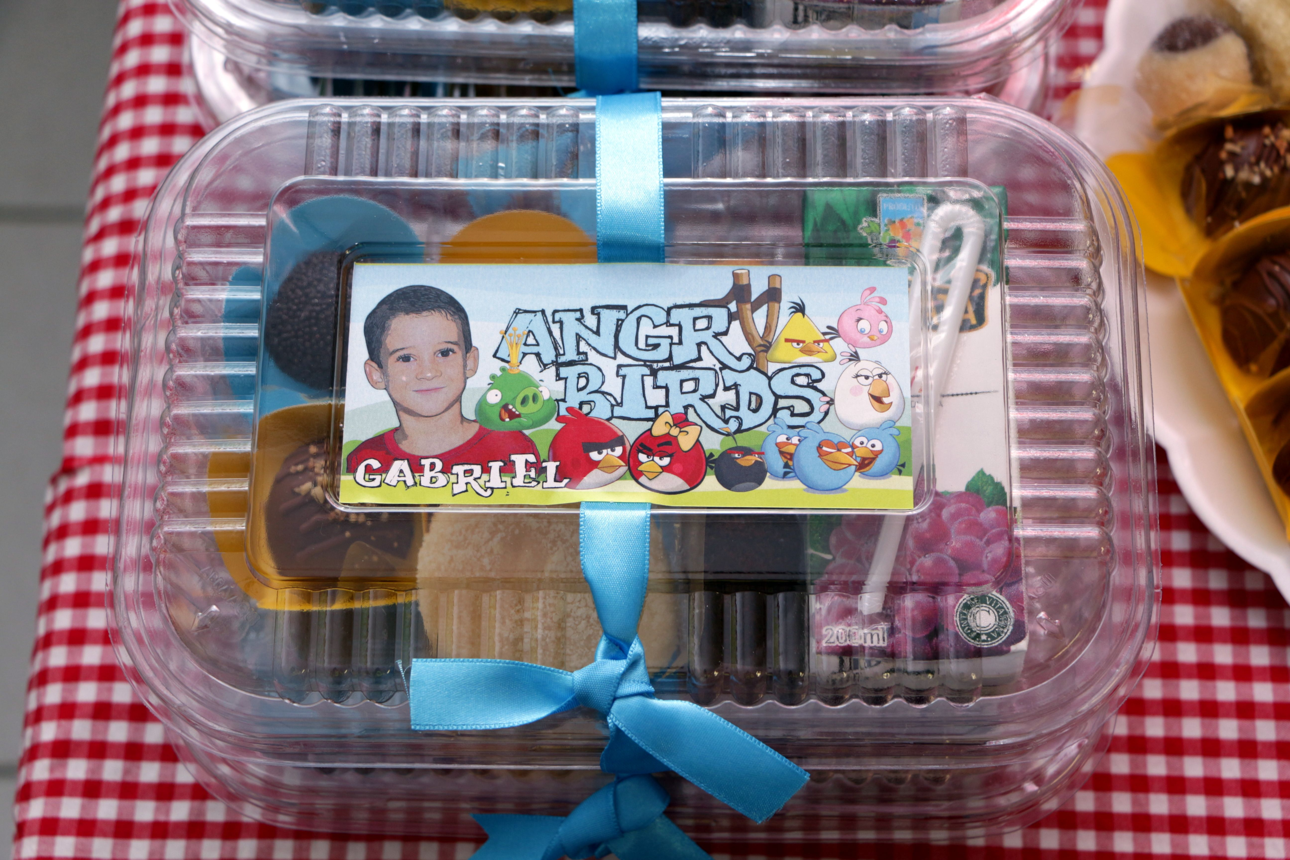 Festa Angry Birds na Escola - Kit Escola - Angry Birds Party in the School