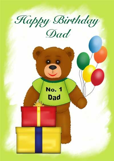 for being so amazon dad birthday card in pdf format double sided - birthday cards format