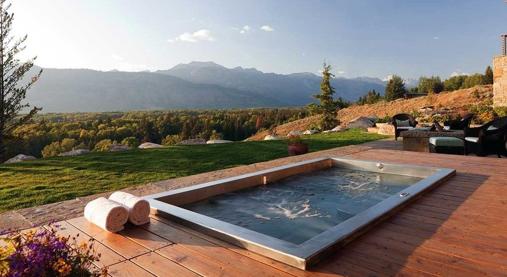 Stainless Steel Spa Hot Tub Luxury Hot Tubs Modern Hot Tubs