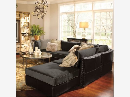 Truffle 5 Piece Sectional For The Living Room