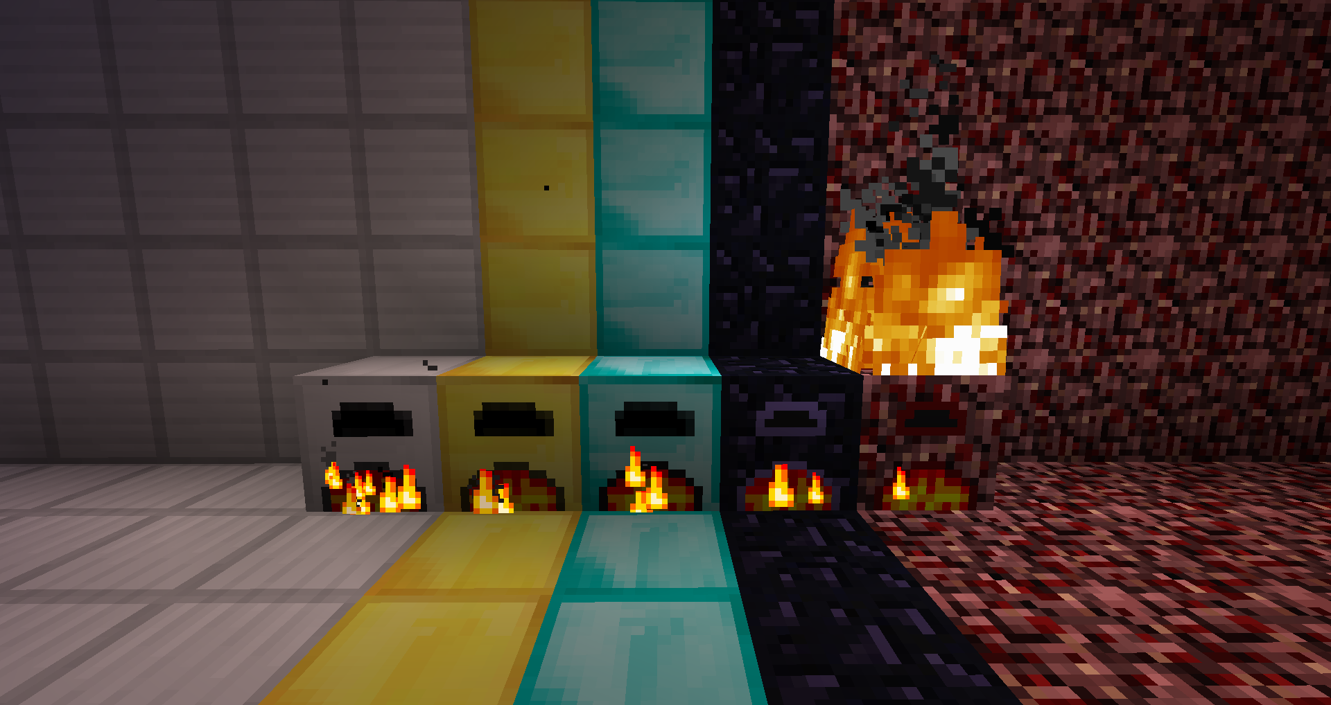 Download More Furnaces Mod 1 13 1 12 2 1 11 2 Adds 5 Furnaces With Different Abilities To The Game Minecraft Mods Minecraft Minecraft Modpacks