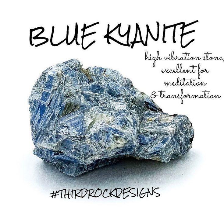 Blue kyanite crystal kyanite stone healing crystals and