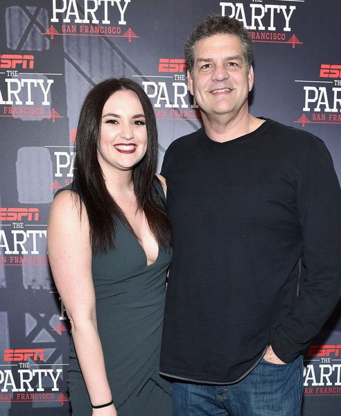 Photo of Mike Golic  & his  Daughter  Sydney Golic