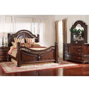 San marino collection master bedroom bedrooms art - Bedroom furniture stores michigan ...