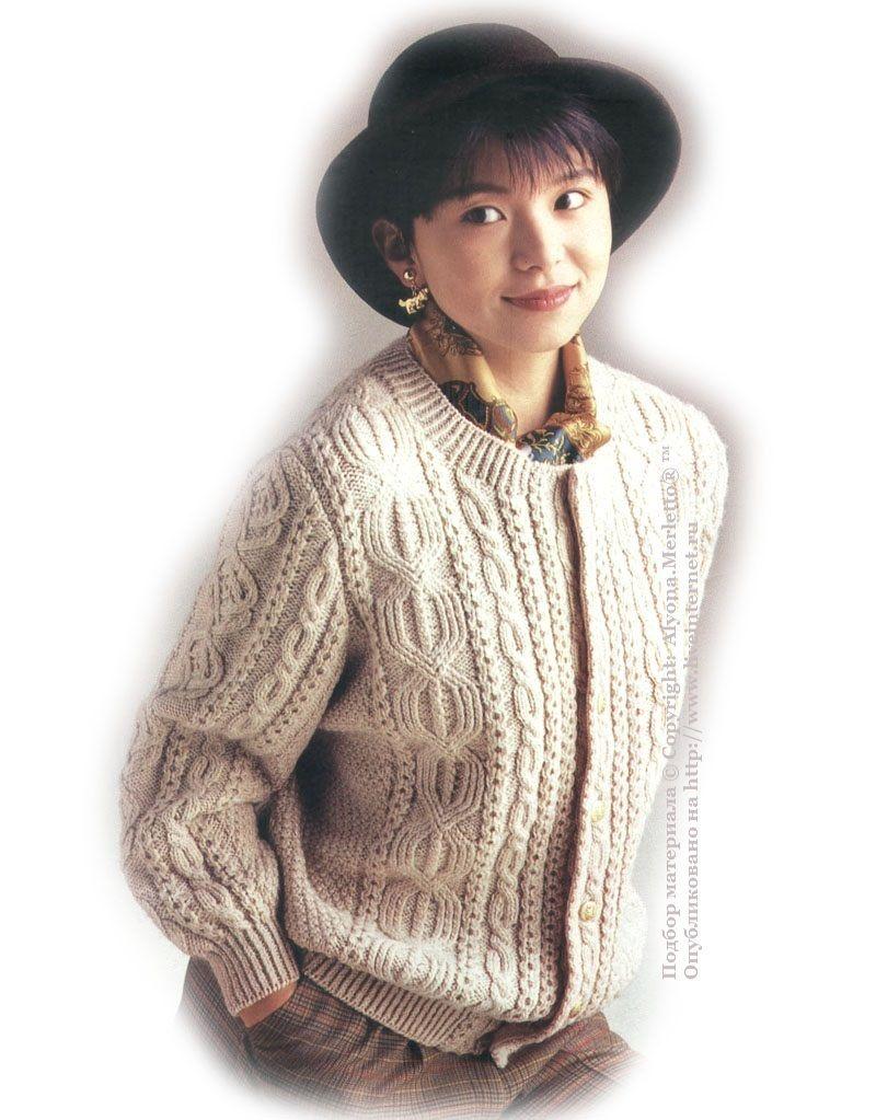 Knit ... de selección - jerséis y chaquetas Aran. Debate sobre ...