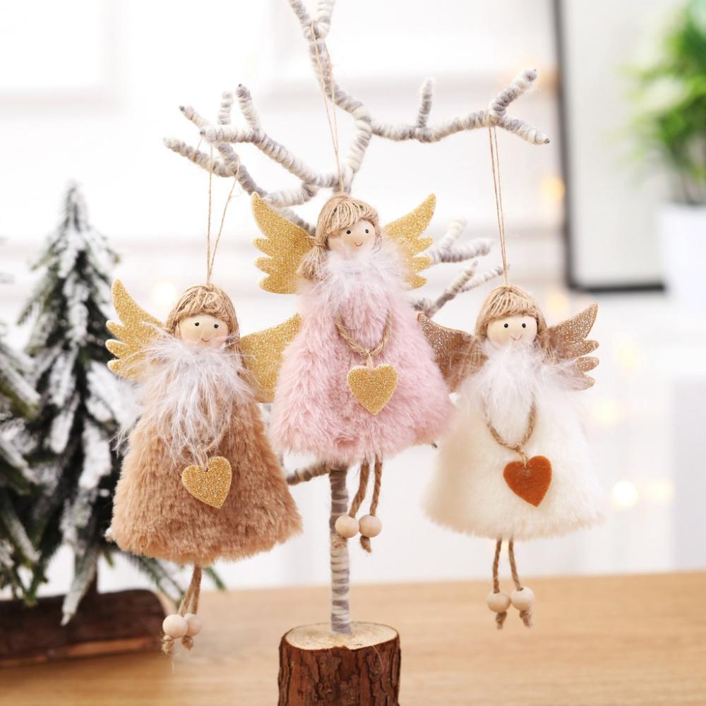 2020 Nový rok Nejnovější vánoční andělské panenky
