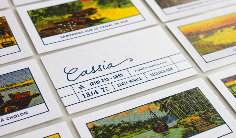 Cassia strohlbrand identity packaging trademark design business cards colourmoves