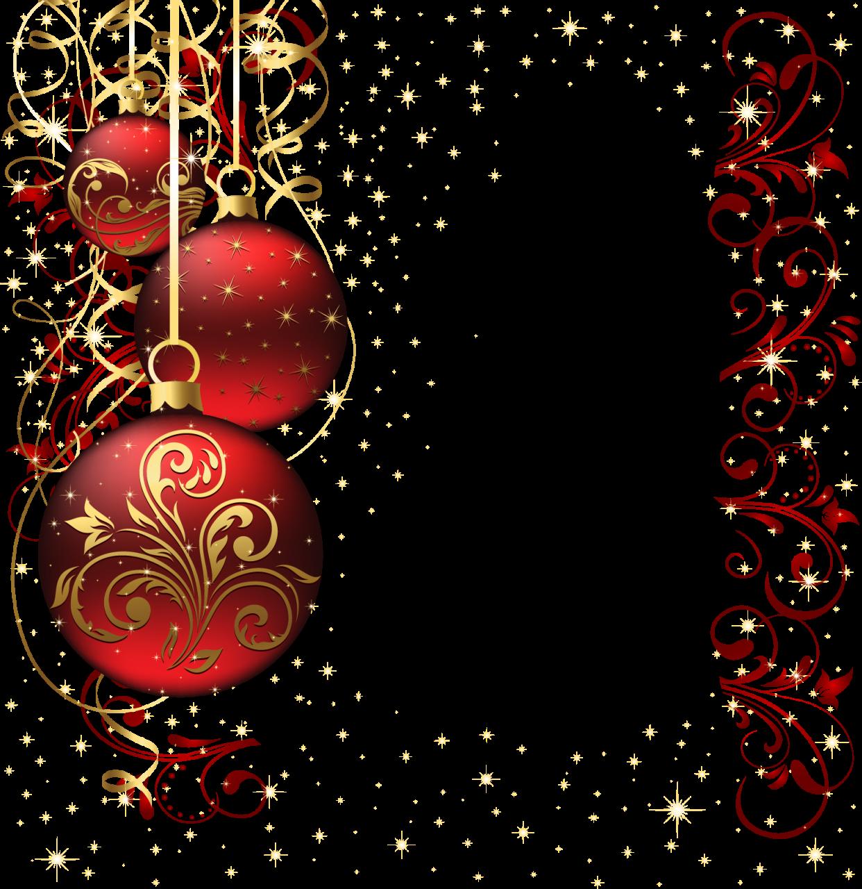 Элементы для оформления новогодних открыток
