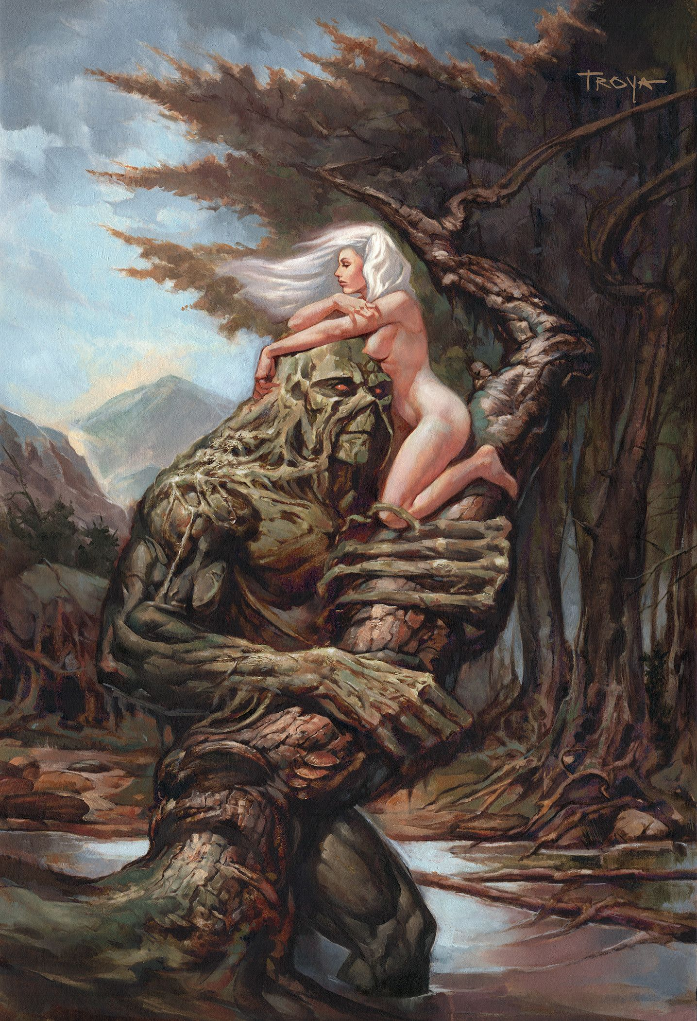 Swamp Thing and Abby rework, Lucas Troya