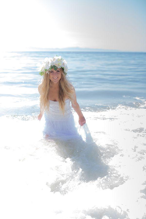 Boho beach bride  |  rochelle wilhelms photography