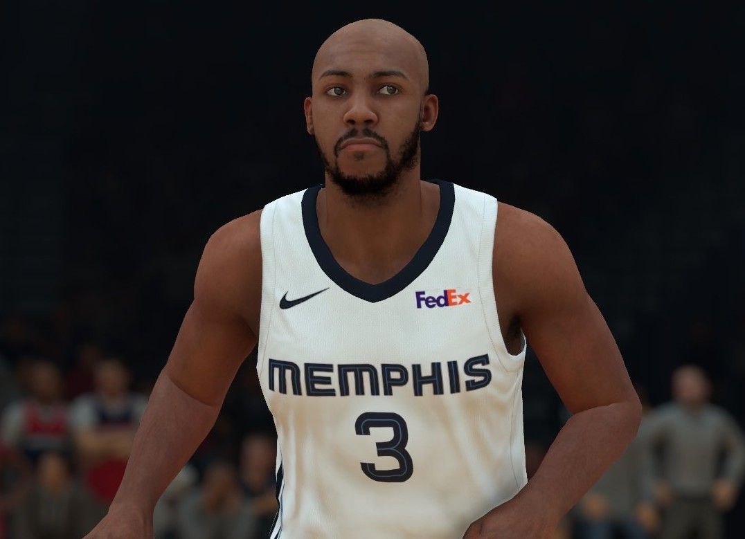 promo code dc3df 15807 Jevon Carter Memphis Grizzlies   NBA 2k   Tank man, Mens ...