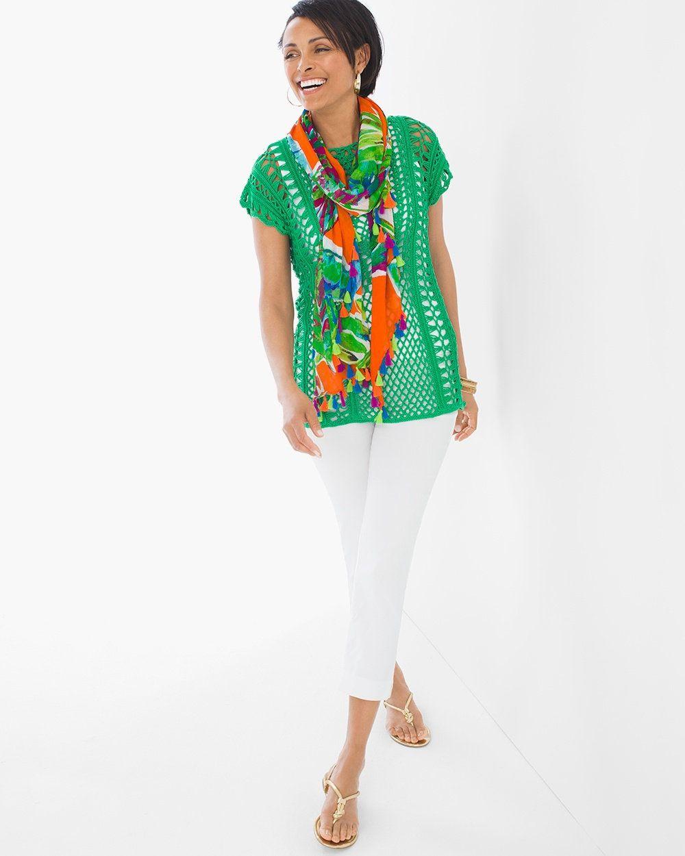 Gloria Crochet Pullover