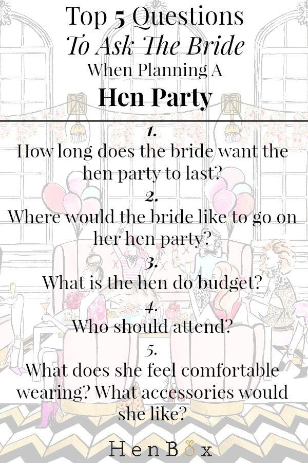 Hen Party Planning Ideas