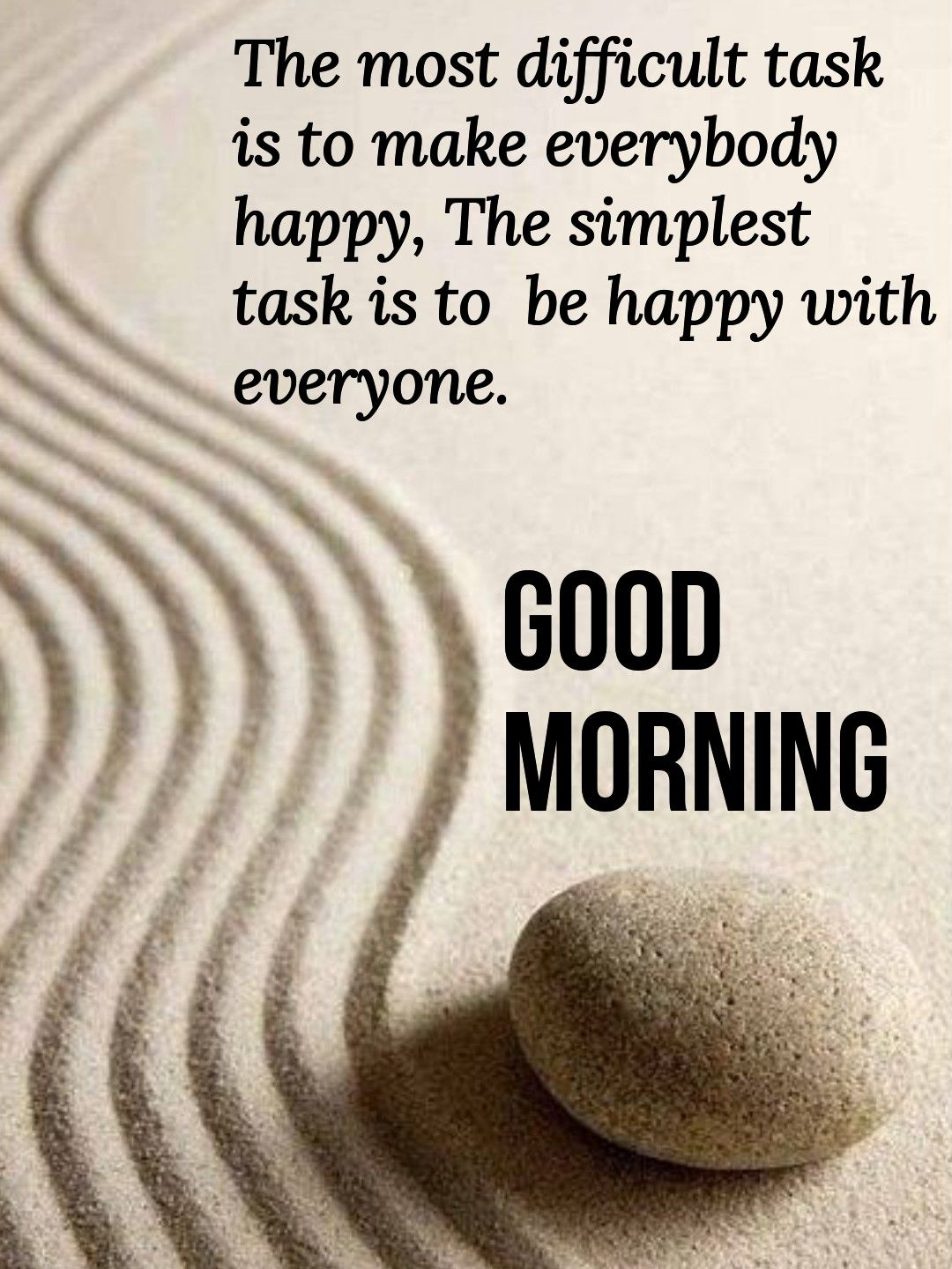 Good morning. Be happy with everyone. | Morning inspirational ...