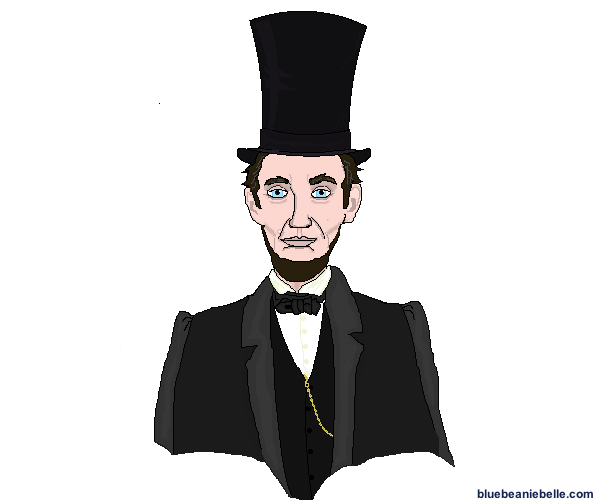 Abraham Lincoln In Stylish Top Hat Top Hat Victorian Lincoln