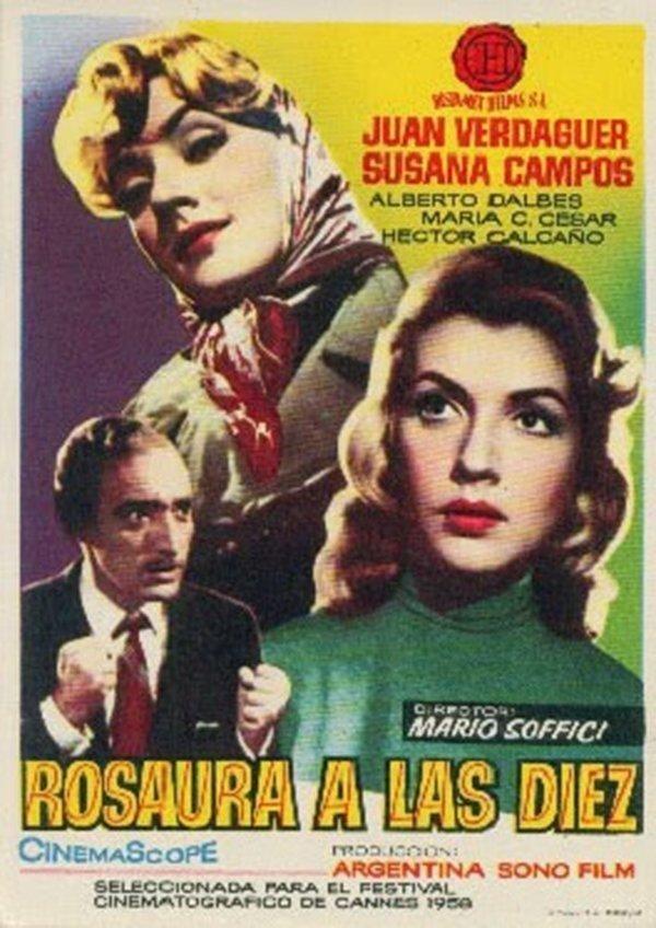 Rosaura a las 10 (1958)