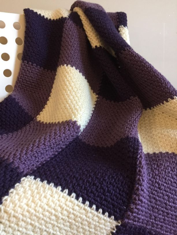 Lavender Throw - A Free Crochet Pattern | Yarn All The Things ...