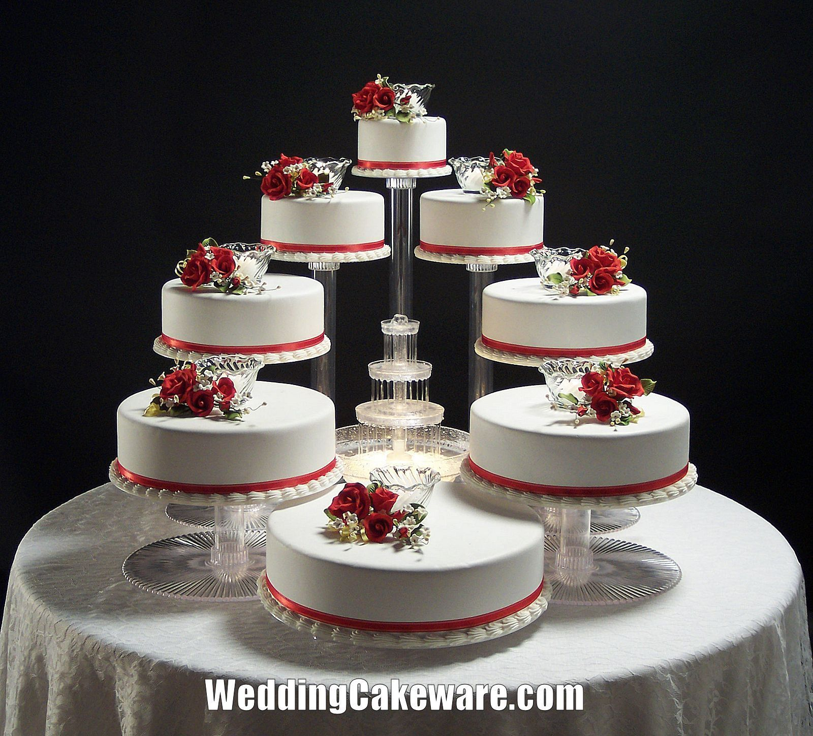 12 Wedding Cakes Tiers Stands Photo