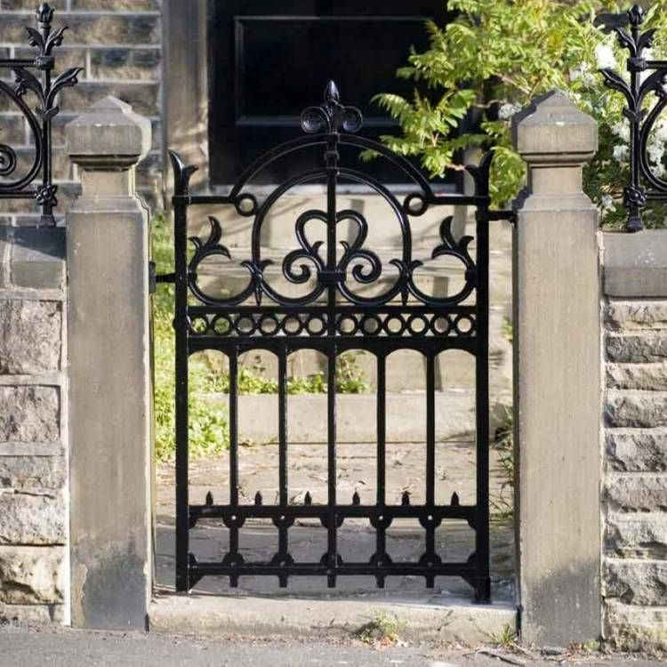 La porte de jardin moderne en 50 exemples | blad | Pinterest | Iron ...
