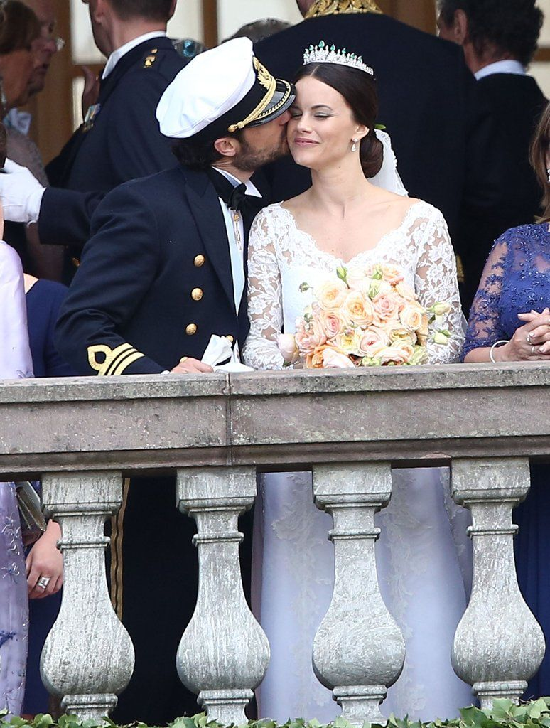 Prince Carl Philip Could Not Stop Kissing Princess Sofia At Their Romantic Wedding Princess Sofia Of Sweden Princess Sofia Prince Carl Philip