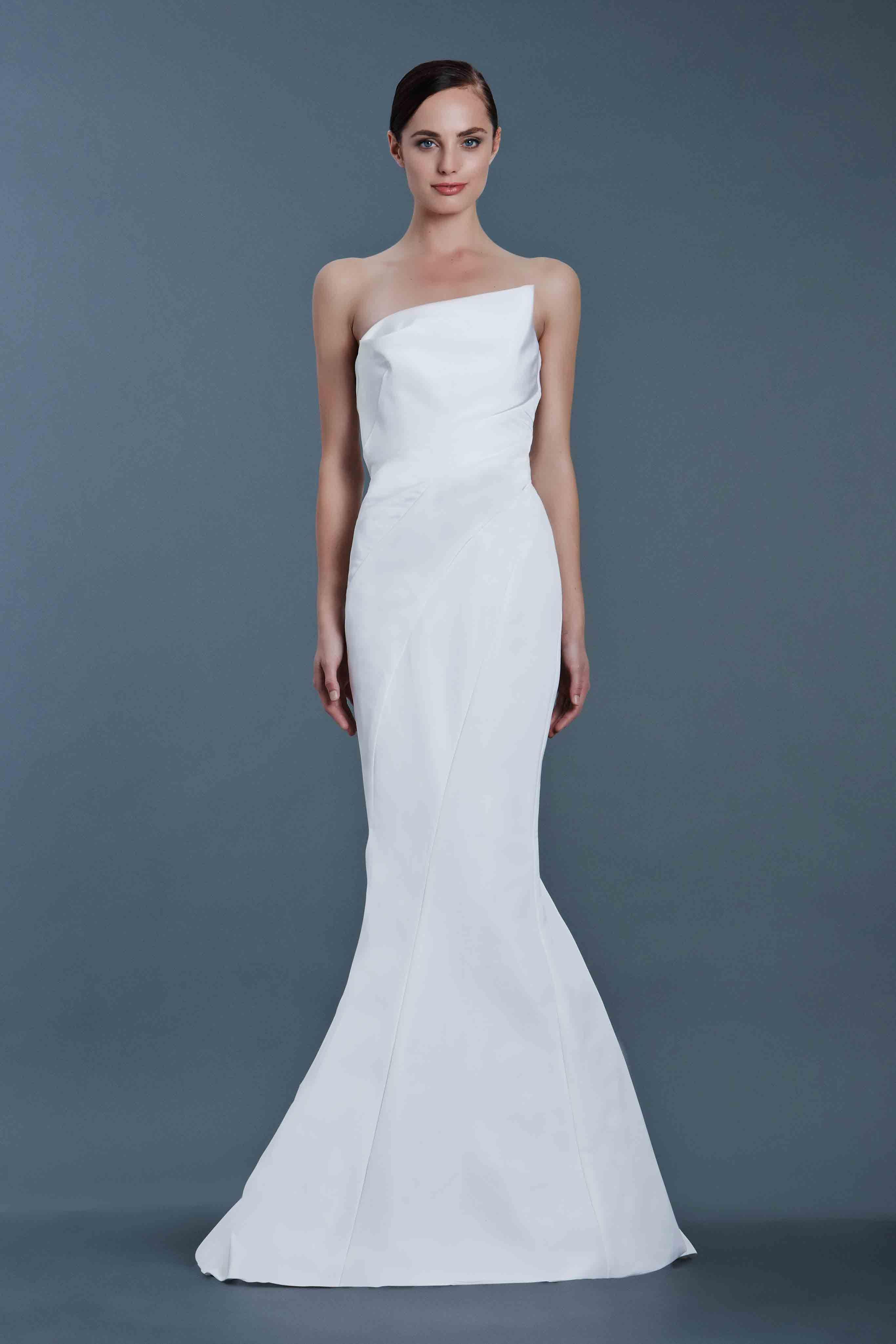 J Mendel Simple Bridal Gowns Bridal Fashion Week J Mendel Bridal