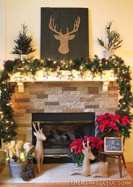 a0301e155 Chimeneas Navidad, Ventanas De Navidad, Casas De Navidad, Reno Navidad,  Vacaciones De