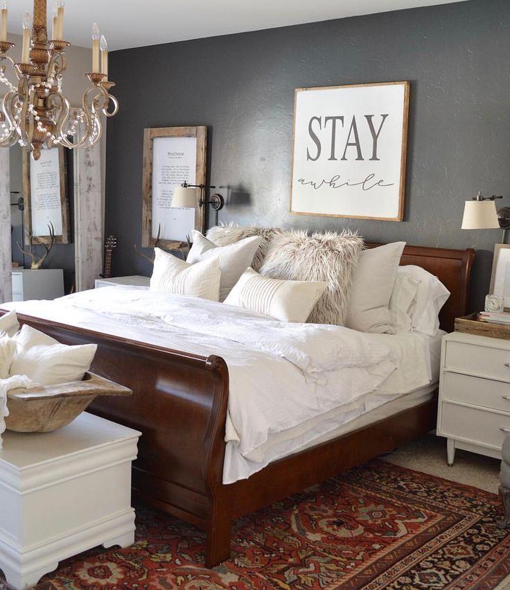 Pin By Nicola Partridge On Bedroom Ideas Brown Furniture Bedroom Master Bedroom Furniture Dark Bedroom Furniture