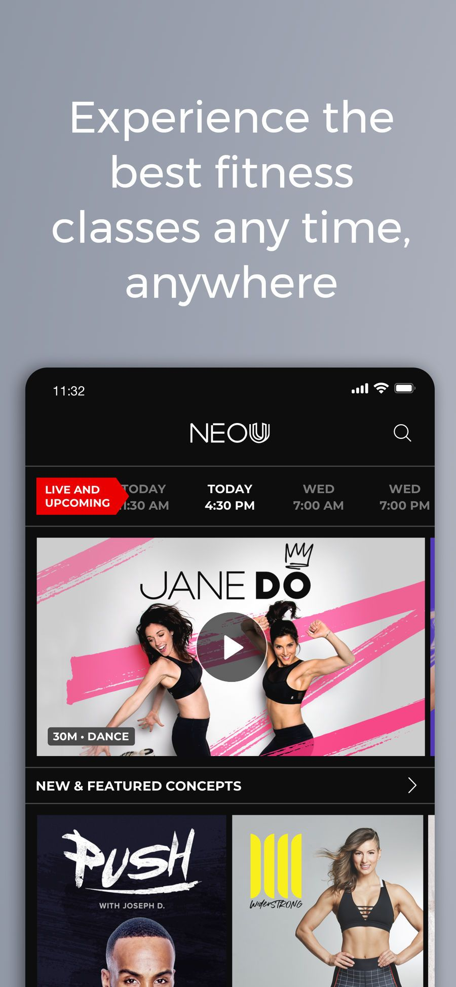 NEOU on the App Store Fun workouts, Workout apps