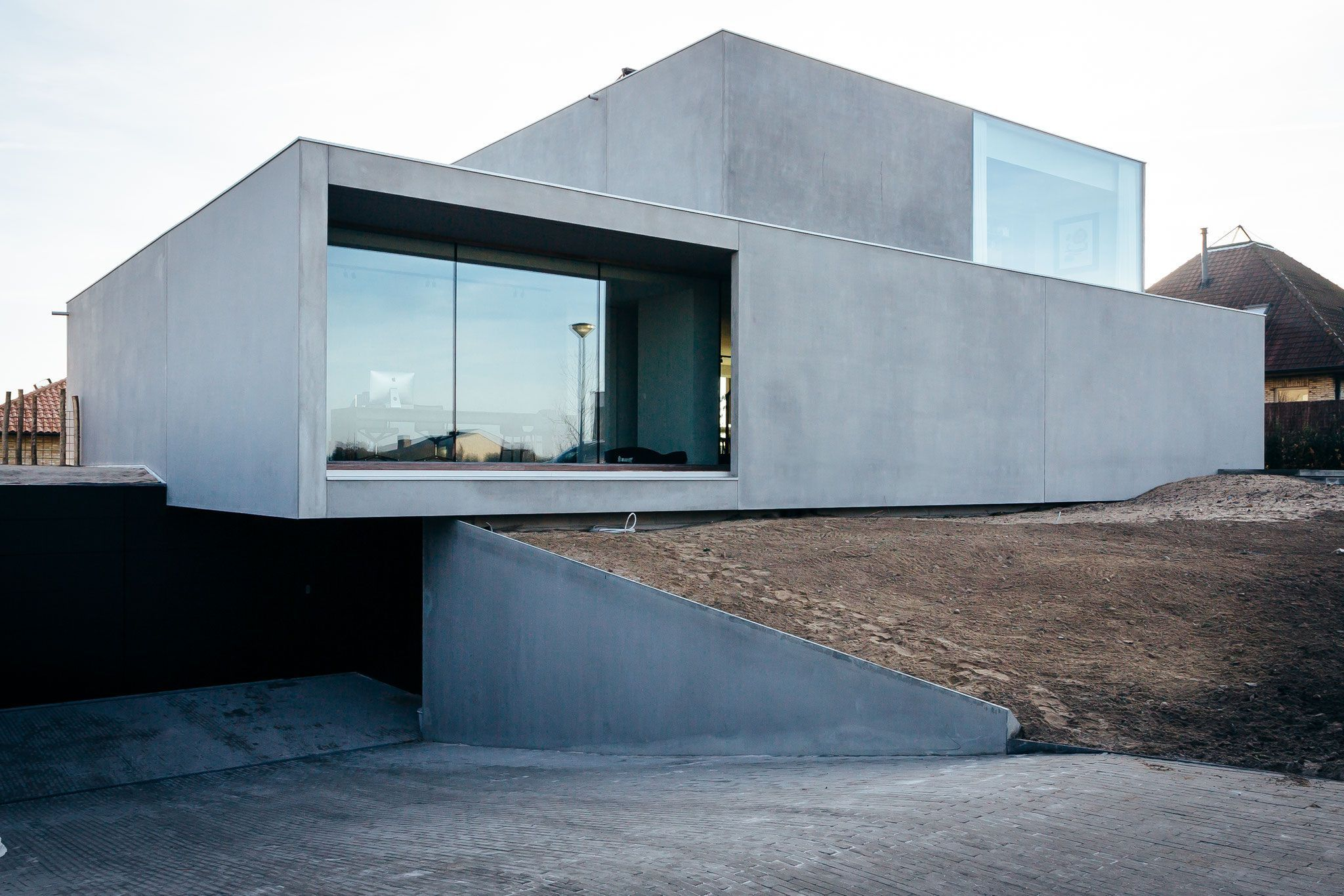 Snel huizen bouw modulair bouwen prefab beton huizen huizen in prefab beton prefab betonhuis modulair huis schoolgebouw crèche het huis van de