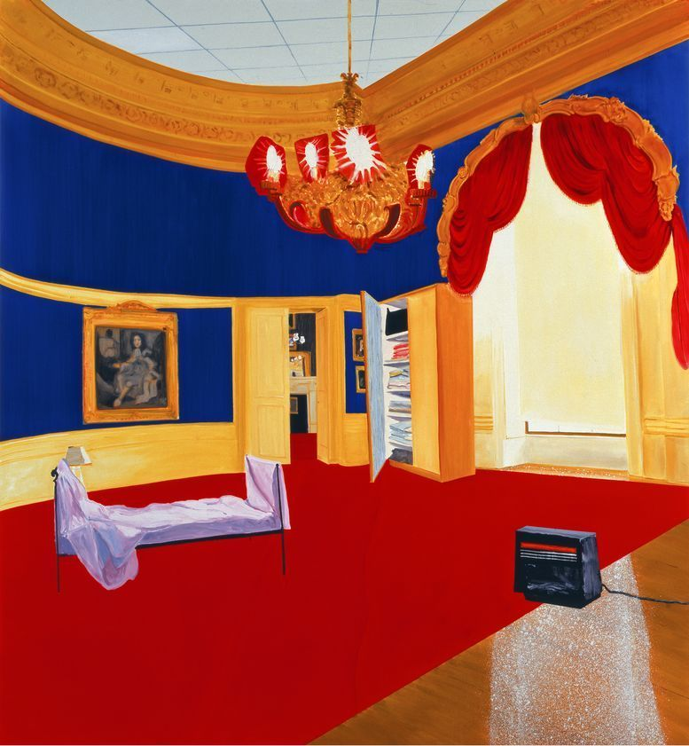 The Queen's Bedroom, 1998 by Dexter Dalwood © Dexter Dalwood. All Rights Reserved, DACS/Artimage 2017. Photo: FXP Photography