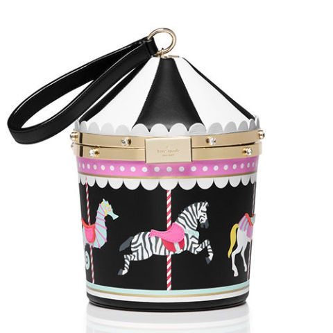 66676756c6  398 BUY NOW Kate Spade takes you on a ride with this carousel-themed  handbag…