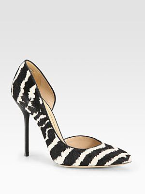 65433812ebe Gucci - Noah Animal-Print Pony Hair and Leather d Orsay Pumps - Saks ...