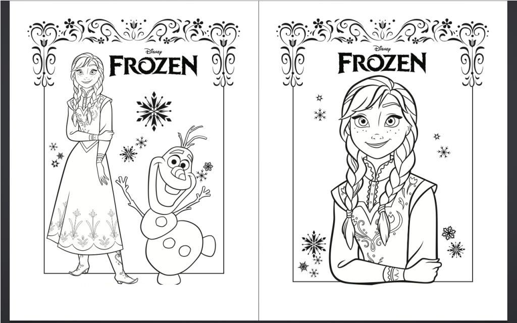 Frozen Coloring Pages Printables | Elsa coloring pages ...