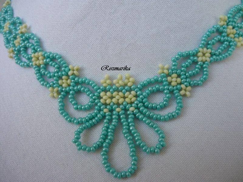 Tyrkysová cipka | Beads, glorious beads 1 | Pinterest | Collares ...