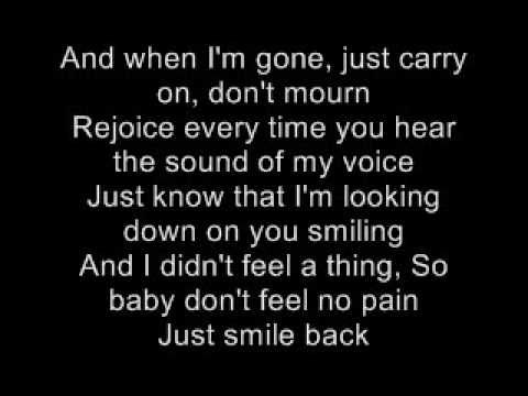 Eminem When Im Gone Lyric Quote Eminem Lyrics Eminem Quotes Go For It Quotes