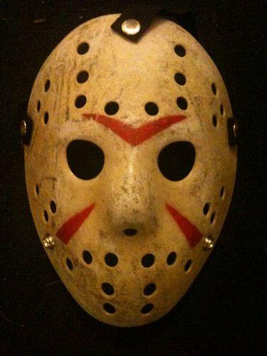 Jason Mask Freddy Vs Jason Voorhees Hockey Straps Goalie Terror New Old Stock