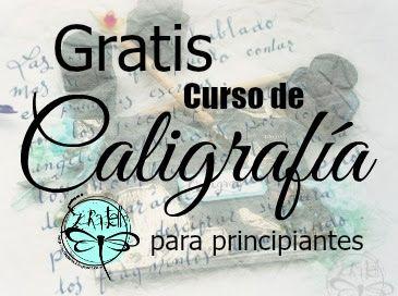 Scraptella: curso: caligrafia caligraphy pinterest bullet