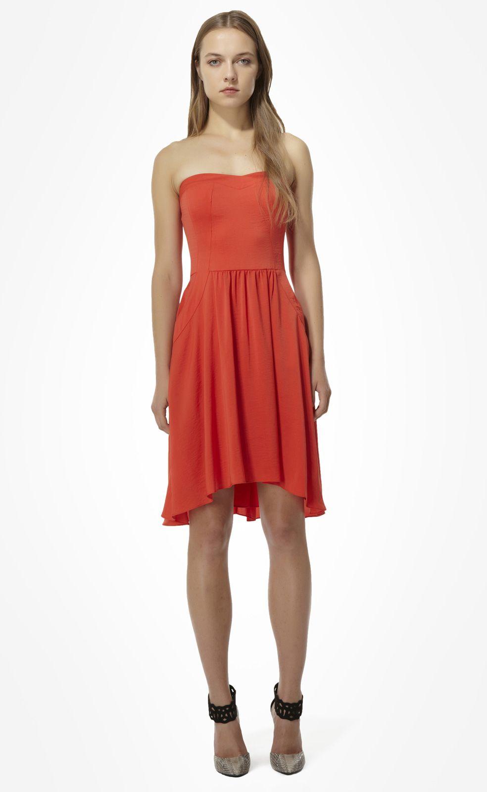 Rebecca Taylor...Strapless Dress | Dresses | Pinterest | Strapless ...