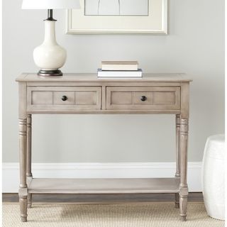 Marvelous Safavieh Cape Cod Grey 2 Drawer Console Table | Overstock.com Shopping   The